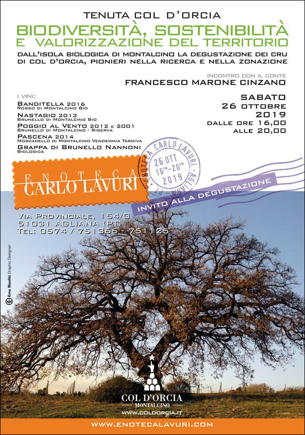 Lavuri Invito 105x150 Col d'Orcia